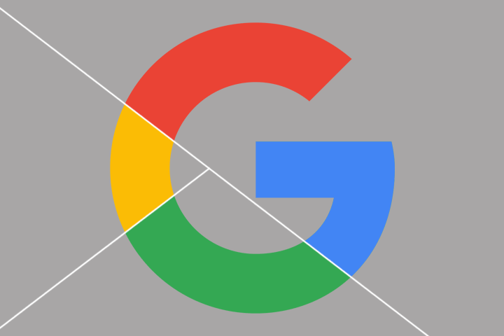 Google icon with added white lines to illustrate Google Analytics Segments