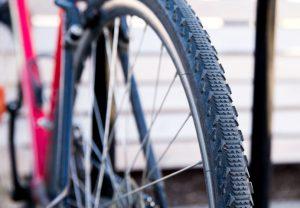 close up of a bike in Bozeman, MT
