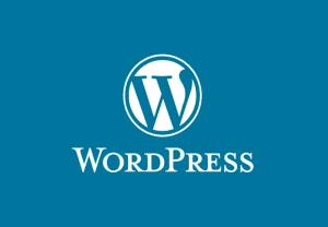 WordPress full logo