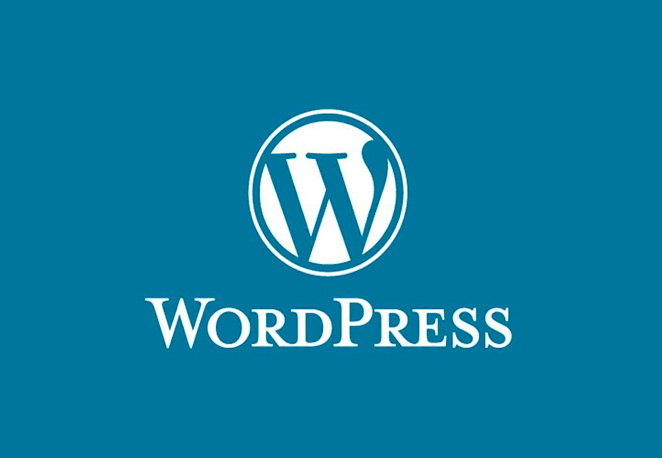WordPress full logo