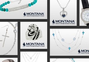 compilation of remarketing ads for MT Silversmiths created by Big Storm in Bozeman, MT