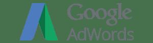 Google Adwords logo in place of the Google Keyword Tool logo