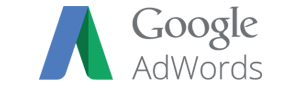 Google Adwords logo in place of the Google Keyword Tool logo
