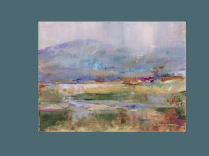 Carol Hagan painting background