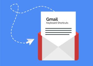graphic illustration of an open envelope with a piece of paper coming out of it