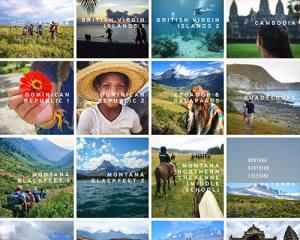 Screenshot of Visions Service Adventure website