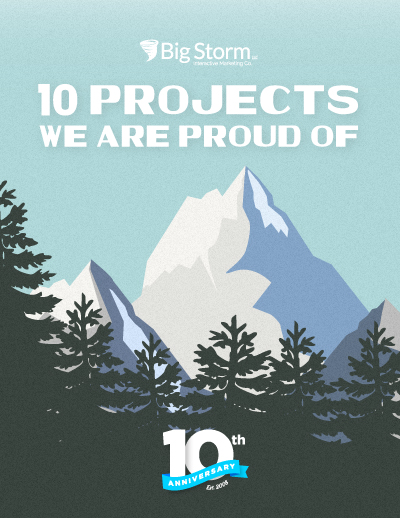 10 Projects We Are Proud Of - Big Storm blog post cover