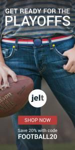 Jelt belt online ad for the playoffs