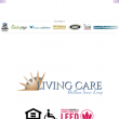 mobile screenshot of the Living Care Lifestyles homepage