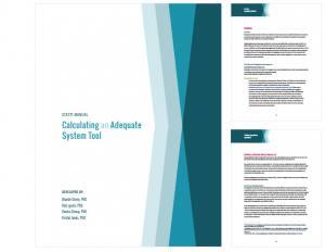 examples of a publication design in a handbook