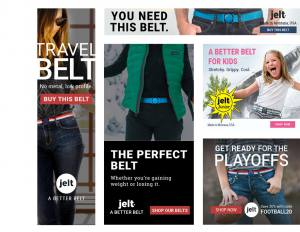 ppc ads and marketing example ads for Jelt