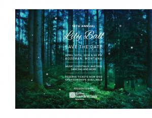 Thrive 14th Annual Lily Ball invitation