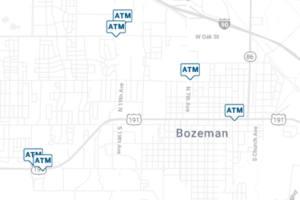 map of bozeman