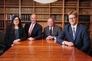 attorneys at a table