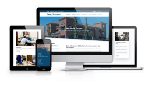 Bank of Bozeman website on multiple devices