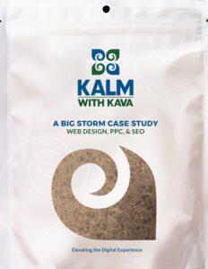 Kalm With Kava product bag