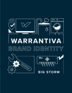 Warrantiva Brand Identity and graphics